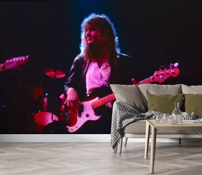El guitarrista de rock escocés Neil Murray