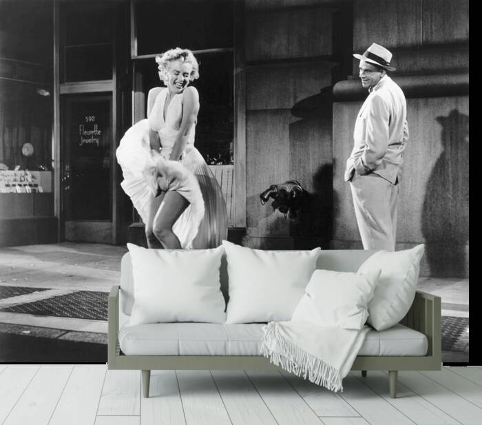 Marilyn Monroe in Seven Years of Thinking
