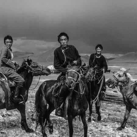 Mongolia  horsemen