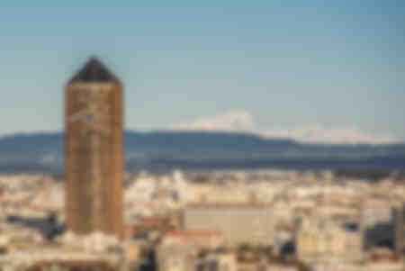 Mont Blanc und der Wachsmalstift