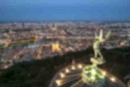 Lyon in der Nacht