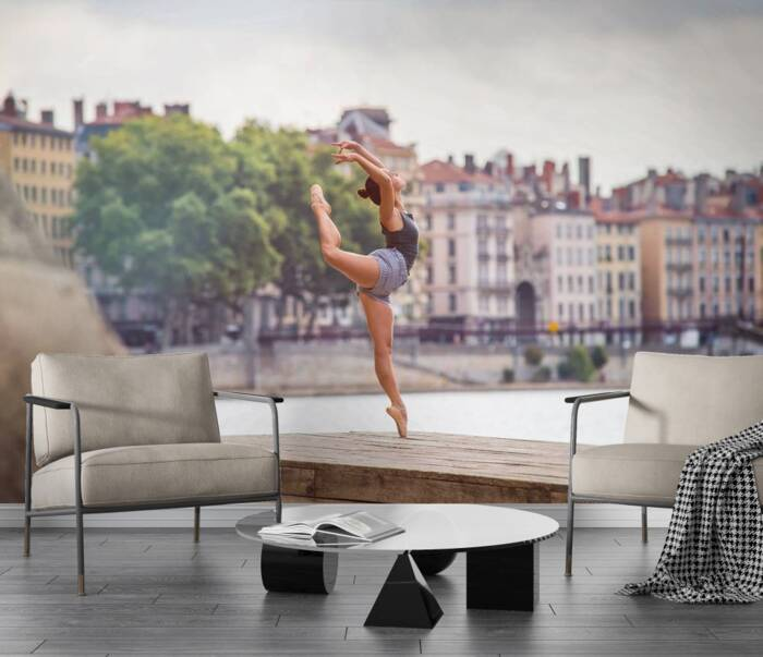 Tiffany sur les quais de Saone pour Dance in Lyon