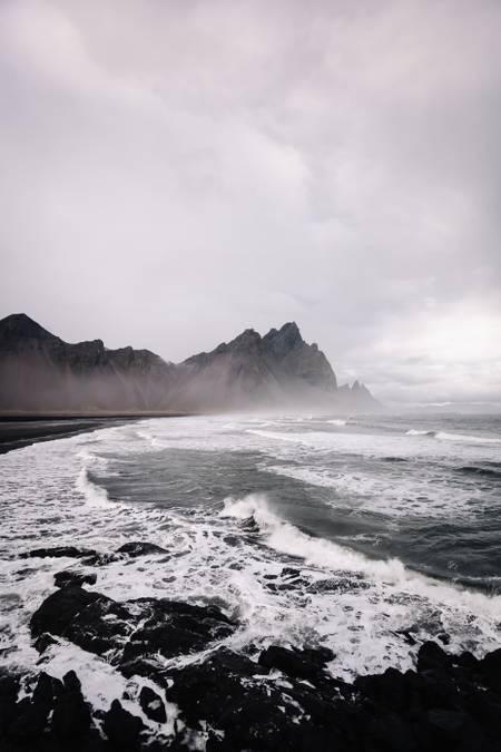 stokksnes beach 2