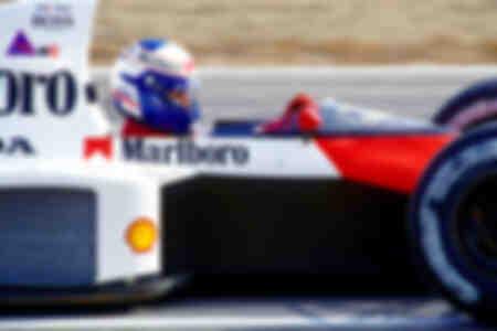 Alain Prost Jerez 1989