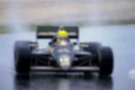 Ayrton Senna First victory Estoril 1985