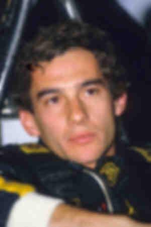 Ayrton Senna Hockeneim 1986 Cockpit