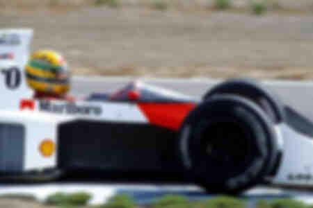 Ayrton Senna McLaren Honda Jerez 1989
