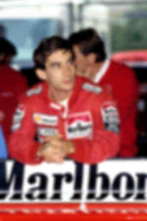 Ayrton Senna McLaren Honda Phoenix 1990