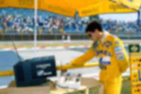Ayrton Senna Mexiko 1987