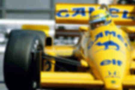 Ayrton Senna Monaco 1987