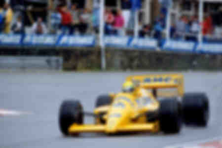 Ayrton Senna Spa 1987