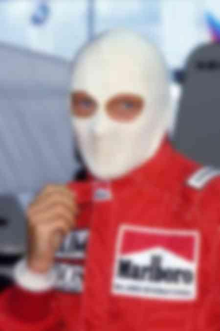 Niki Lauda Zandwoort 1985