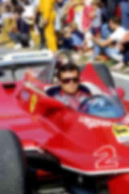 Patrick Tambay Ferrari 1985