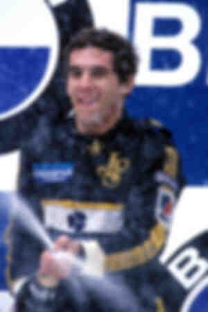 First victory Ayrton Senna 1985