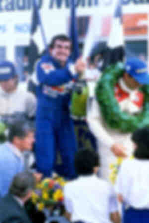 Alain Prost's first victory 1981
