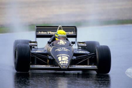 Ayrton Senna Prima vittoria Estoril 1985
