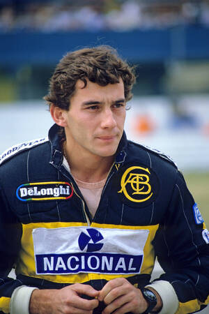 Ayrton Senna Hockeneim 1986
