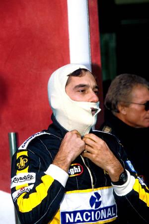 Ayrton Senna Imola 1986