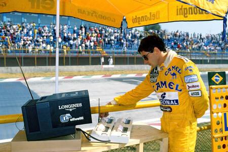 Ayrton Senna Mexico 1987