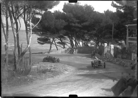 Cannes años 30 carrera de autos de California