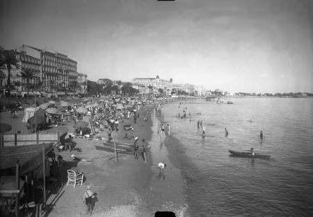 Beaches of the Croisette Cannes annees