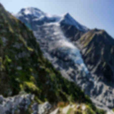 Naald en koepel van de gouter_glacier du Bourgeat