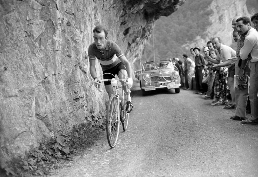 Charly Gaul 1956 - Photographic print for sale
