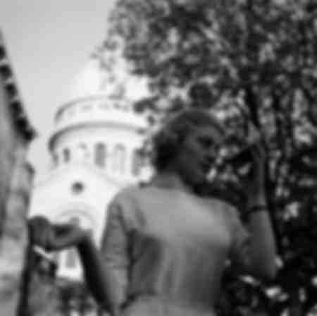 Annie Girardot à Montmartre