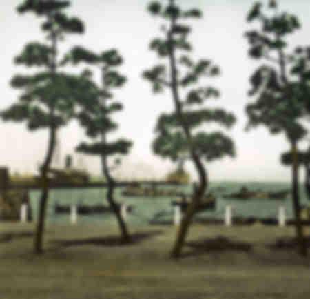 Meer in Yokohama - 1900er Jahre