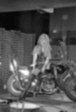 Brigitte Bardot su Harley Davidson