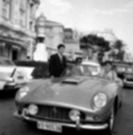 Ferrari convertible in Monaco
