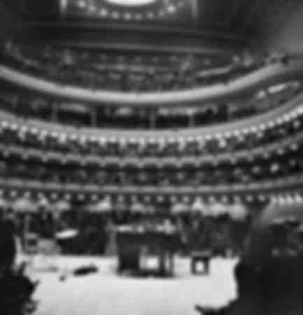 Carnegie Hall in New York in 1963