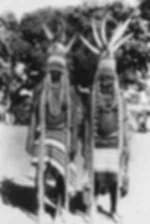 Ballerini della regione Moar della Costa d'Avorio