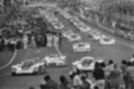 24-timmars start från Le Mans 1982