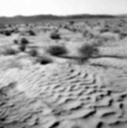 Deserto di sabbia in Tunisia - 1965
