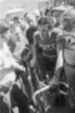Eddy Merckx lors du Tour de France 1977
