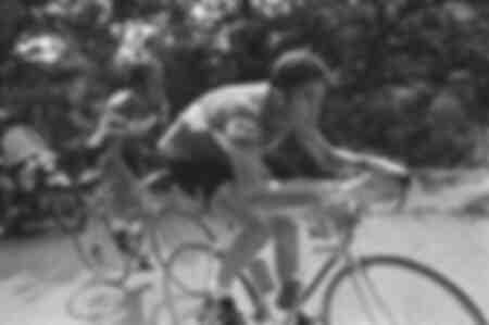 Eddy Merckx lors du Tour de France de 1977