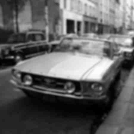 Ford Mustang bei Paris II
