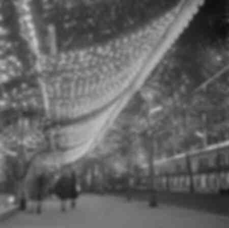 Weihnachtsbeleuchtung in Paris 1966