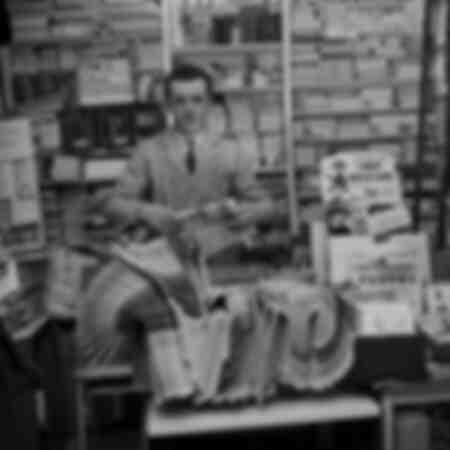Newsstand in Paris 1964