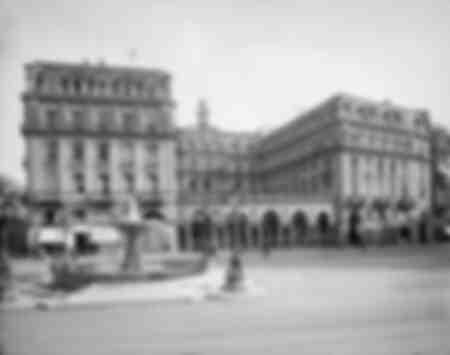 L'hôtel de Francfort 1900