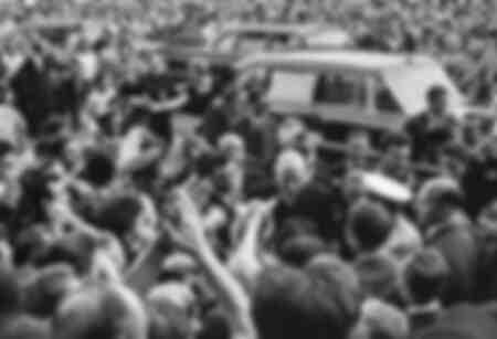 General de Gaulle in Russia 1966
