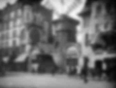 El Moulin-Rouge a principios del siglo pasado