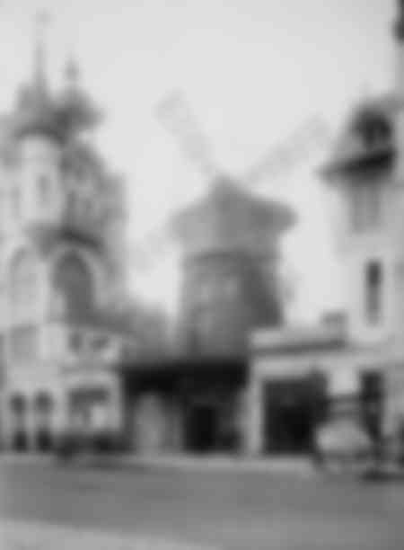 The Moulin Rouge around 1910