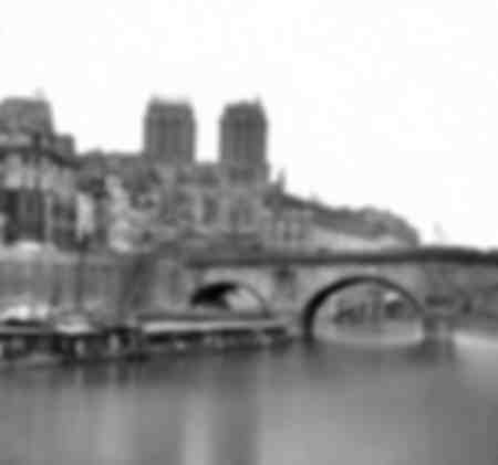 The Pont Saint-Michel and Notre-Dame - Paris