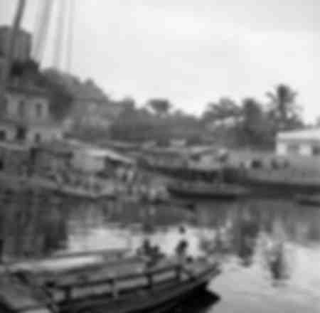 The Old Port of Bahia in Brazil around 1960