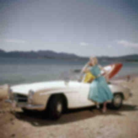 Mercedes 190 cabriolet années 60