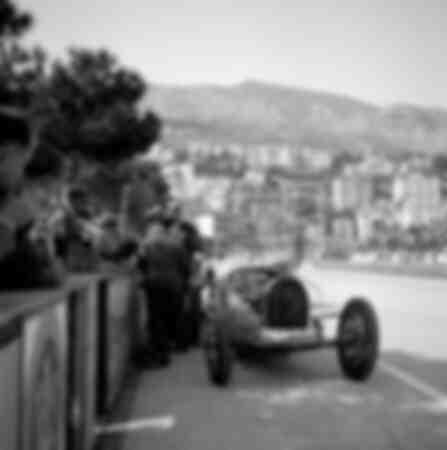 Monaco - grand prix - Bugatti 51