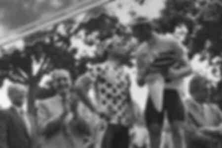 Podium du Tour de France de 1986