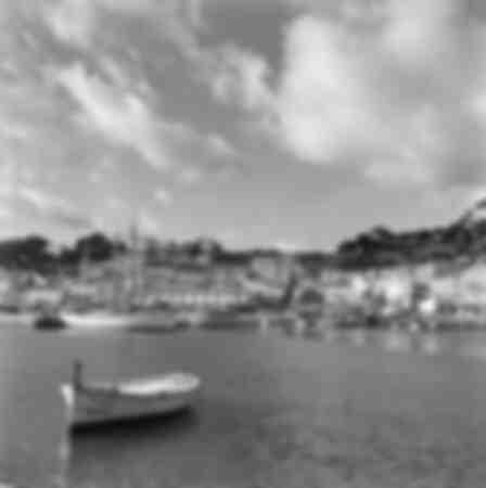 Port de Soller on the island of Majorca